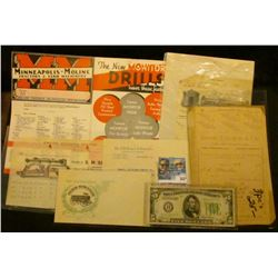 "Unused Cachet envelope ""The Old Reliable Peter Schuttler Made in Chicago Since 1843"" depicts an old"