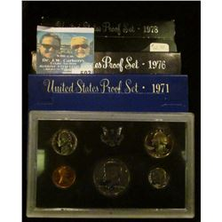 1971, 1976, AND 1978 PROOF SETS