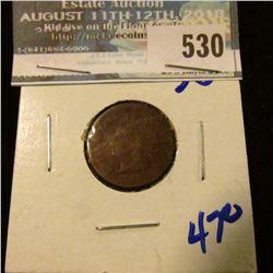 1866 SEMI KEY DATE INDIAN HEAD CENT