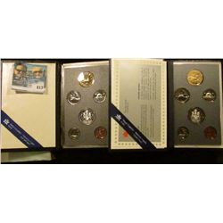 1988 AND 1993 PROOF CANADIAN COIN SETS
