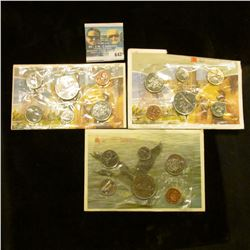 CANADIAN MINT SETS DATED 1968, 1991, 1984, AND 1986