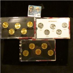2005 GOLD, 2003 GOLD,   2002 PHILADELPHIA,  2002 DENVER MINT, 2003 PLATINUM EDITION, AND 2004 GOLD E