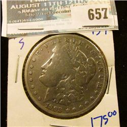 1903-S KEY DATE MORGAN SILVER DOLLAR