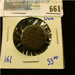INDIA MUGHAL EMPIRE 1 DAM COIN… THIS COIN WAS MINTED DURING THE 16TH CENTURY