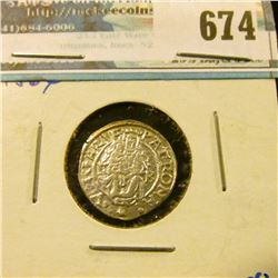 HUNGARY SILVER 1 DINAR COIN MINTED IN 1564