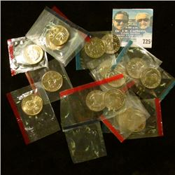 15 SACAGAWEA AND SUSAN B ANTHONY DOLLARS FROM UNCIRCULATED MINT SETS