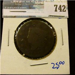 1826 CORONET HEAD LARGE CENT