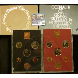 1976 AND 1979 PROOD COIN SETS FROM GREAT BRITAIN