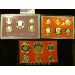 1976, 1980, AND 1989 PROOF SETS