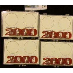 2000 MILENNIUM SACAGAWEA COIN DOLDERS