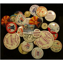(29) Miscellaneous Pin-backs, many Elks Lodge related.