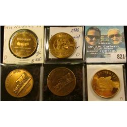 (5) Different Iowa Centennial Medals, includes: Orange City, Washta, Shenandoah, Cresco, & Newell, I