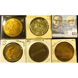 (5) Different Iowa Centennial Medals, includes: Newton, Melbourne, Lehigh, Shenandoah, & Lenox, Iowa