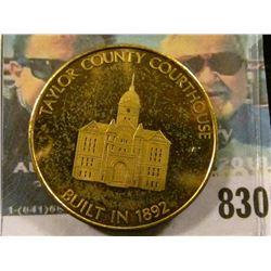 1776-1976 Taylor County Iowa Bicentennial Medal, BU.