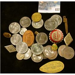 (25) Mixed Tokens, trinkets, and medals.