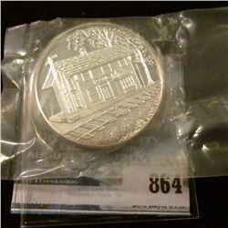 """""""Centennial/Conesville/Iowa/1878-1978"""", Serial # 054, .999 Fine Silver, 39mm."""