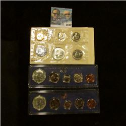 1032 _ 1965, 1966, & 1967 U.S. Special Mint Sets in original holders as issued by the U.S. Mint. Inc