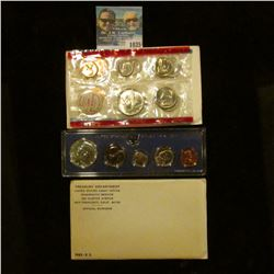1035 _ 1965, 1967 U.S. Special Mint Sets, & 1968 Silver Mint Set in original holders as issued by th