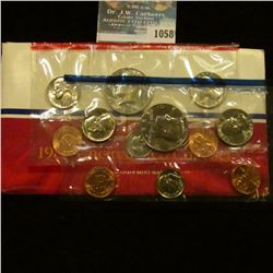 1058 _ 1987 P & D U.S. Mint Set in original government holder as issued. (The only way to get the Ha