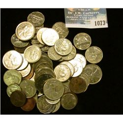 1073 _ $5.77 face value in old Canada Coinage, cents to quarters.