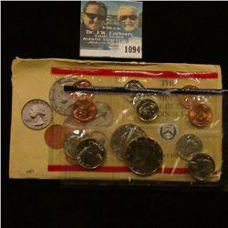 1094 _ 1990 U.S. Mint Set in original envelope as issued.