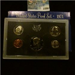 1096 _ 1971 S U.S. Proof Set. Original as issued.