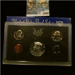 1098 _ 1970 S U.S. Silver Proof Set. Original as issued.