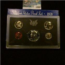 1099 _ 1970 S U.S. Silver Proof Set. Original as issued.