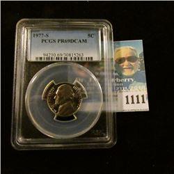 1111 _ 1977 S Jefferson Nickel, PCGS slabbed PR69DCAM NGC Price Guide $20