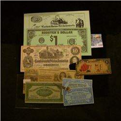 "1152 _ Pair of Mint condition 1938 ""Profit Sharing Coupon(s) Redeemable at Lexington Merchants Profi"