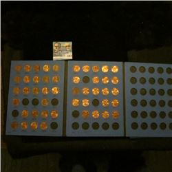 1163 _ 1975-99 Partial Set of Lincoln Cents in a Whitman folder. Many of the coins are BU.