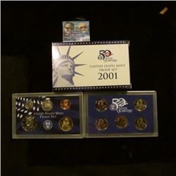 1172 _ 2001 S U.S. Proof Set, original as issued including Quarter set.