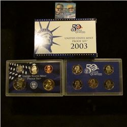 1173 _ 2003 S U.S. Proof Set, original as issued including Quarter set.