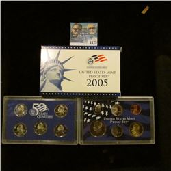 1175 _ 2005 S U.S. Proof Set, original as issued including Quarter set.