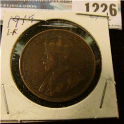 1226 _ 1919 Canada Large Cent.
