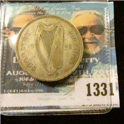 1331 _ 1928 Ireland, Silver Florin.