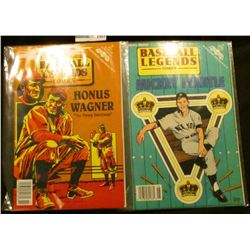 "1493 _ ""Unauthorized and Proud of it. Baseball Legends Comics Honus Wagner ""The Flying Dutchman"", ar"