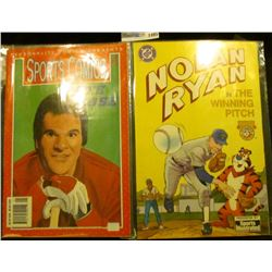 "1495 _ ""Personality Comics Presents Sports Comics Pete Rose""; & DC Comics ""Nolan Ryan in the Winning"