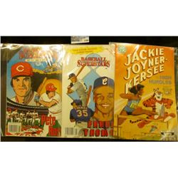 "1496 _ ""Unauthorized and Proud of it. Baseball Legends Comics ""Frank Thomasl"", includes full color c"