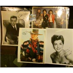 "1497 _ Autographed color photo of ""The Oak Ridge Boys""; autographed black and white photo ""My Best W"