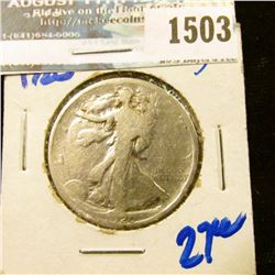 1503 _ 1920 P Walking Liberty Half Dollar