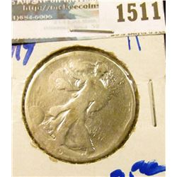 1511 _ 1919 P Walking Liberty Half Dollar