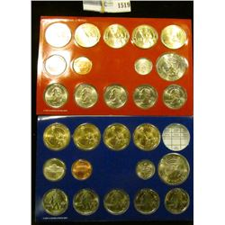 1519 _ 2008 Mint Set Which Include 8 Presidential Dollars, 2 Sacagawea Dollars, 2 Kennedy Half Dolla
