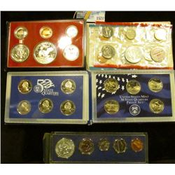 1521 _ Coin Set Lot Includes 1968 Mint Set, 1966 Special Mint Set, 2006 Proof State Quarter Set, 200