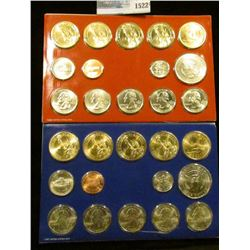 1522 _ 2007 Mint Set Which Include 8 Presidential Dollars, 2 Sacagawea Dollars, 2 Kennedy Half Dolla
