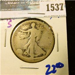 1537 _ 1919-S Walking Liberty Half Dollar