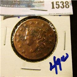 1538 _ 1831 Coronet Head Large Cent