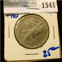 1541 _ 1918 Walking Liberty Half Dollar