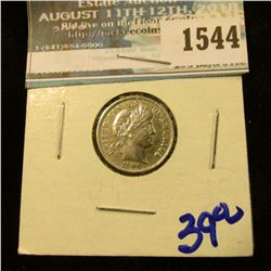 1544 _ 1900 Barber Dime With Full Liberty