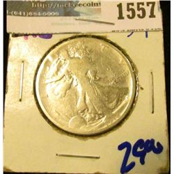 1557 _ 1918 Walking Liberty Half Dollar